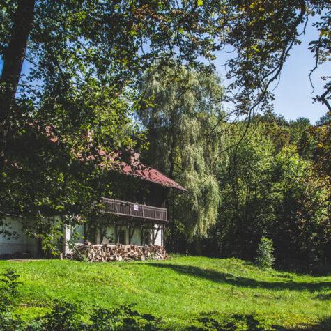 Domek myśliwski w Rózinie
