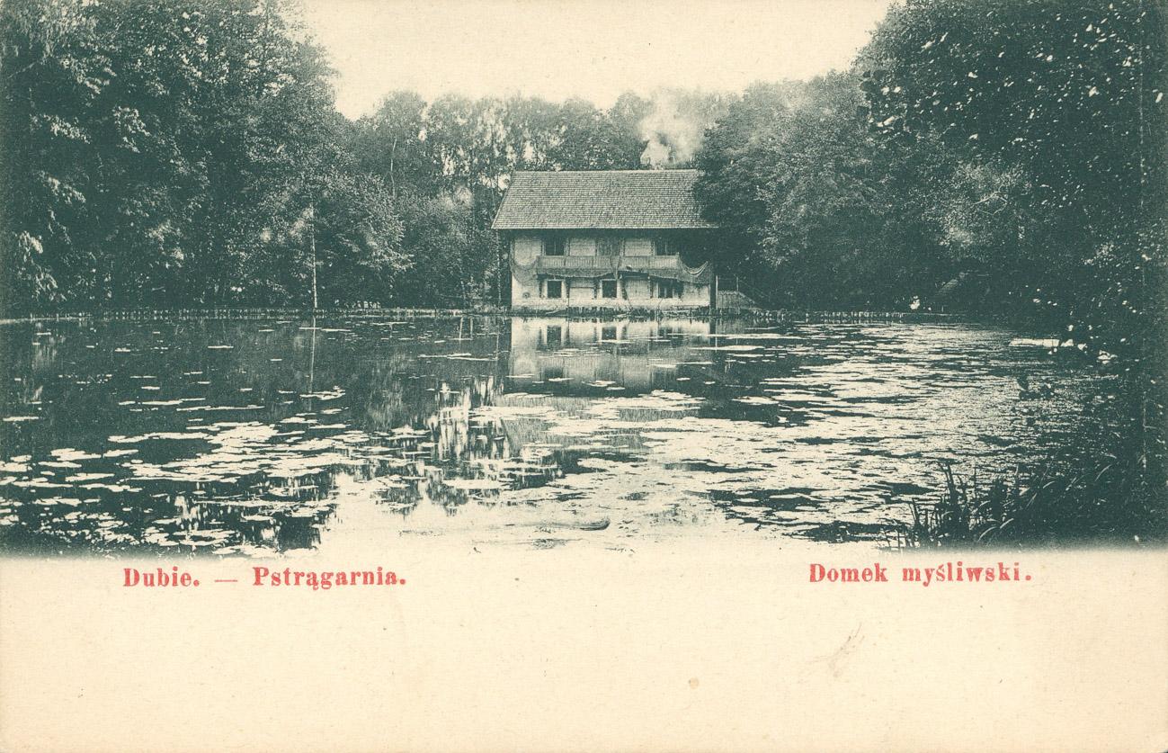 Domek myśliwski – Pocztówka z 1906 roku