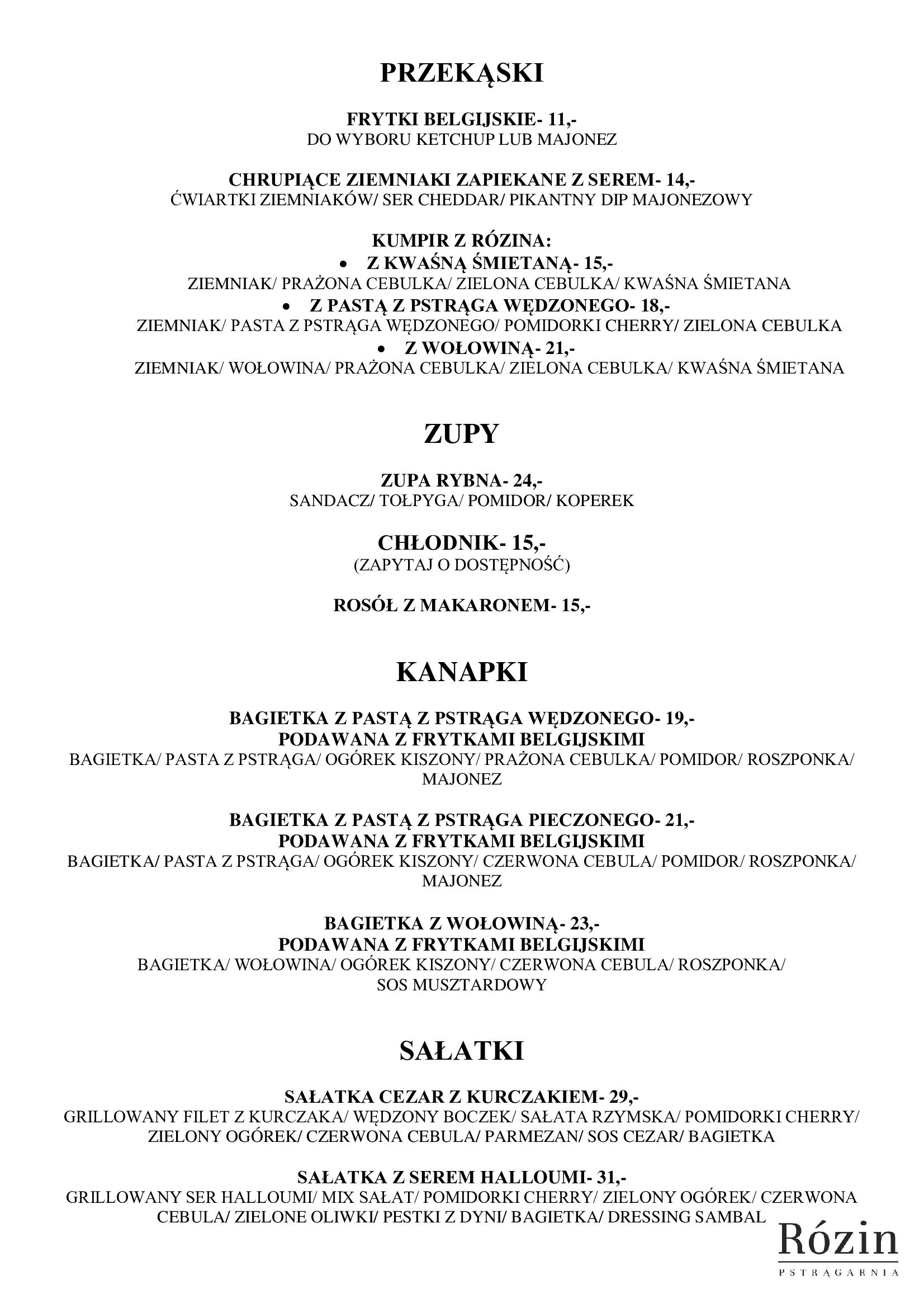 Restauracja Rózin 2