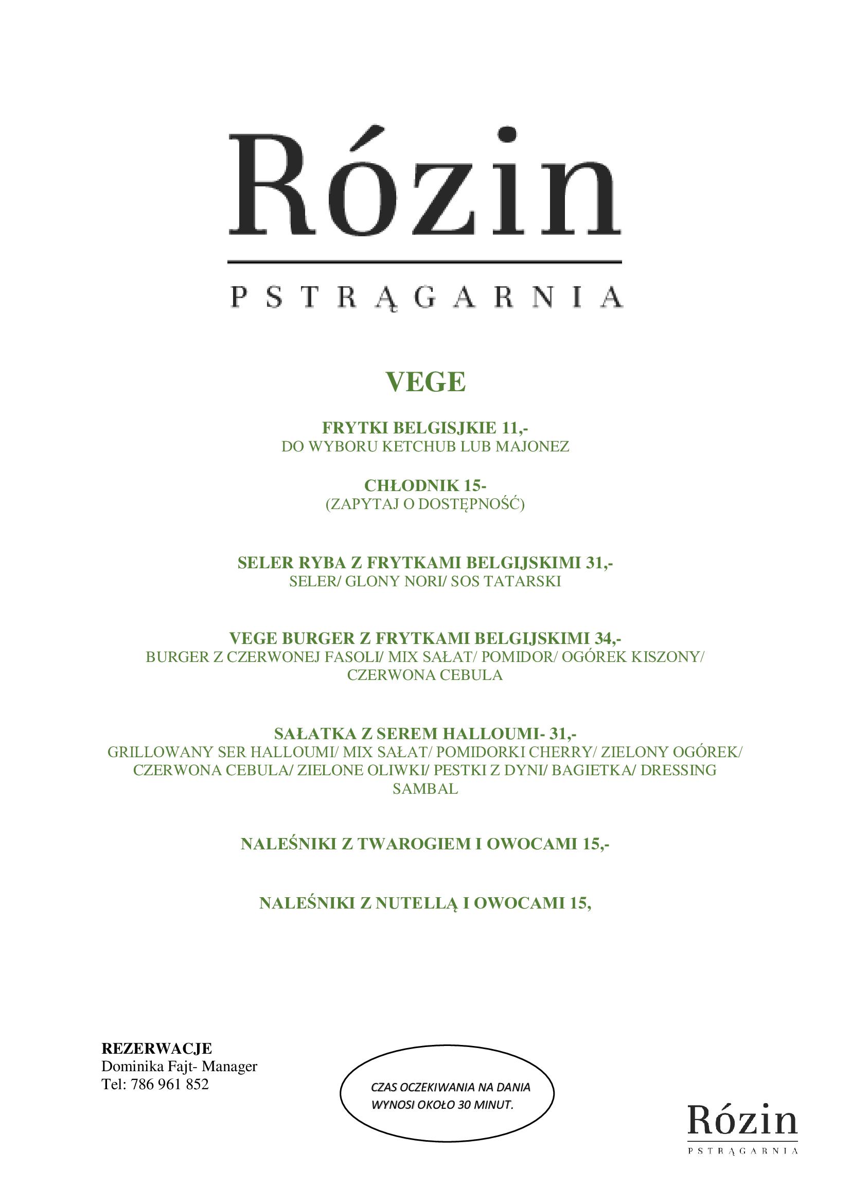 Restauracja Rózin 8